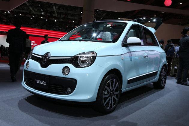 ルノー、フランス車らしいコロッとしたプロポーションの3代目「トゥインゴ」が登場!【TMS2015】