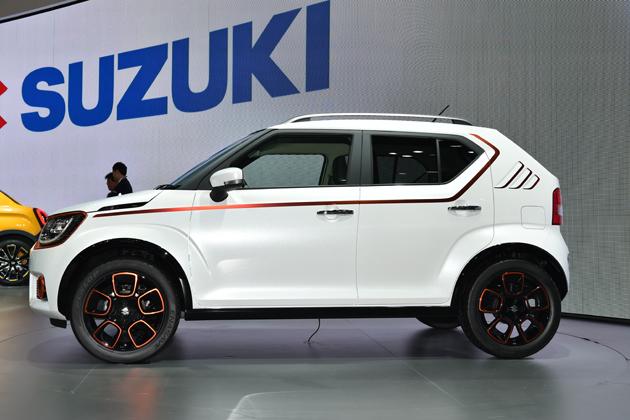 まもなく市販!? スズキの新しい小型車「SUZUKI IGNIS(スズキ イグニス)」【TMS2015】
