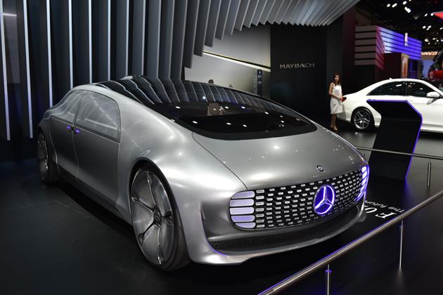 メルセデス・ベンツ F015 Luxury in Motion