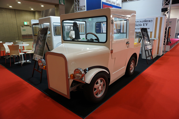 高山自動車 JT105型(ピックアップトラックタイプのマイクロEV)