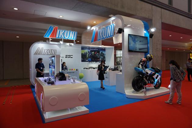 ミクニ、キャブレターメーカーの老舗の最新技術を展示【TMS2015】