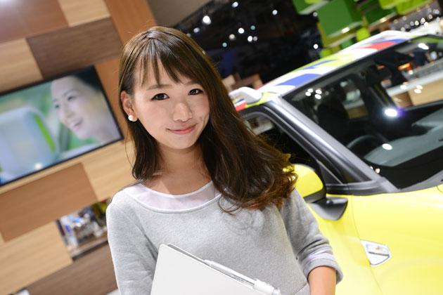 【TMS2015/美女ファイル04】岩瀬香奈ちゃん「ロリ顔の癒し系レースクイーン」