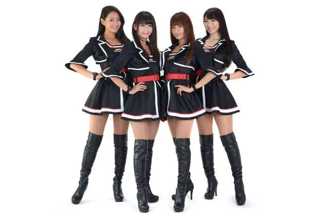 東京オートサロン2016 イメージガール「A-class」