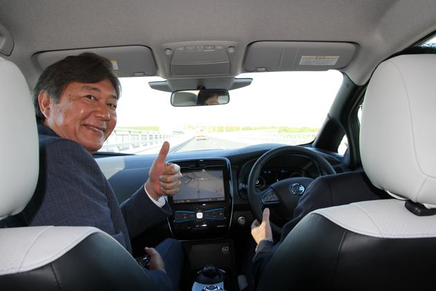 """日産、早くも""""一般道""""での自動運転デモを披露!"""