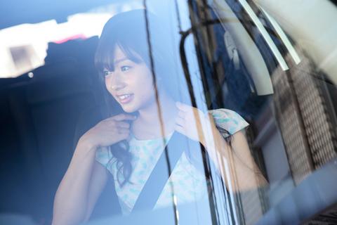 ただセンパイを羽田空港まで送るだけのこと。それでも、意中の女性とドライブできる至福のときには違いない