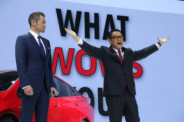 『グローバルで活躍するイチローとトヨタの共通点とは』TMS2015にイチローがサプライズ登場!