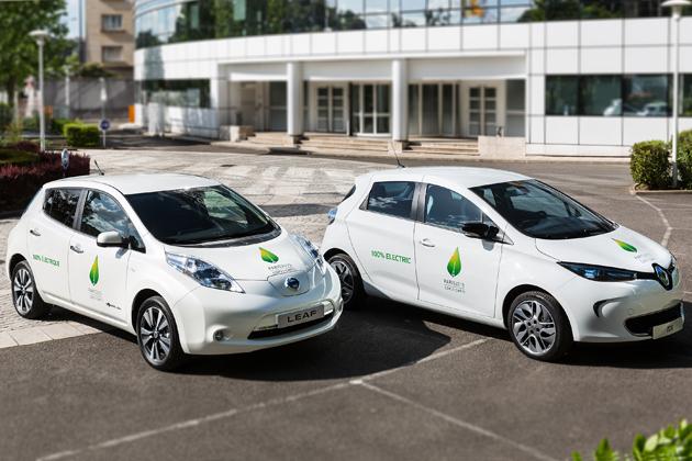 ルノー・日産、COP21開催のパリに充電ステーションを新設