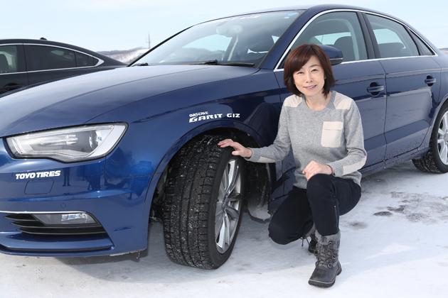 氷上、コーナー、圧雪路・・・様々な路面でスタッドレスを試してみた/ 「トーヨー オブザーブ・ガリットギズ」試乗レポート/飯田裕子