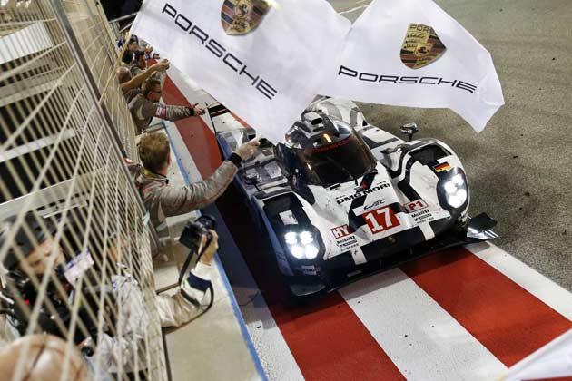 ポルシェ/2015年FIA世界耐久選手権(WEC)最終戦バーレーン6時間レース