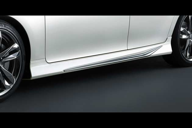レクサス新型「GS」モデリスタカスタマイズアイテム