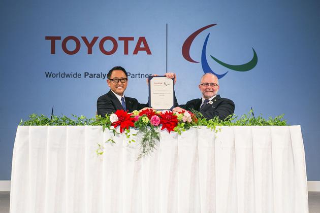 トヨタ、IPC ワールドワイド・パラリンピック・パートナーに就任