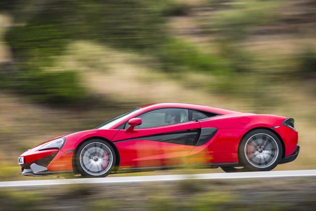 F1のマクラーレンが造る市販スーパースポーツ「McLAREN 570S COUPE」 海外試乗レポート
