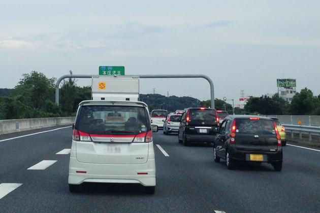 年末年始の高速道路の渋滞は1/2~3がピーク