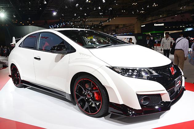 ホンダ新型「シビックタイプR」 (東京モーターショー2015 展示車両)