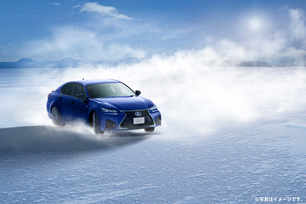 LEXUS ORIGINAL DRIVING PROGRAM 『ICE SKATING WITH GS F& RC F』