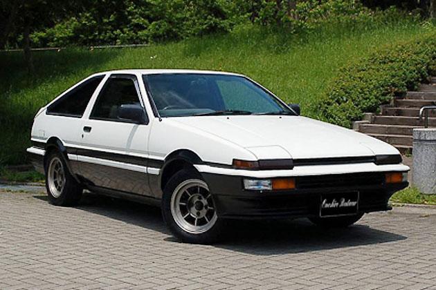 トヨタ スプリンタートレノ AE86