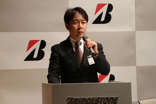 ブリヂストンタイヤジャパン株式会社 消費財マーケティング本部長 長島淳二氏