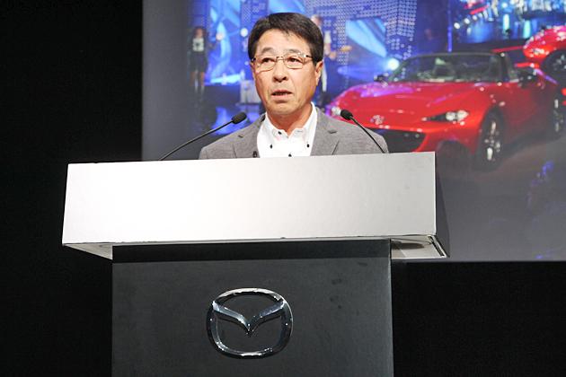 マツダ株式会社 小飼雅道社長兼CEO