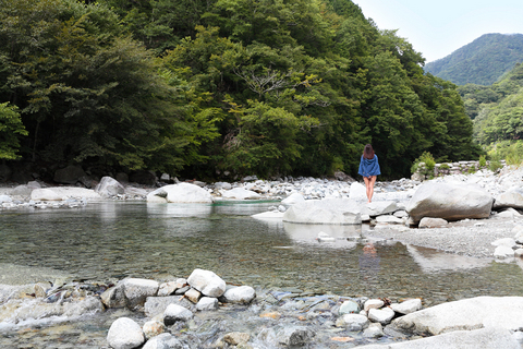 さおりが山に向かって何か叫んだのがわかったが、川のせせらぎにかき消されてタカノの耳には届かない。