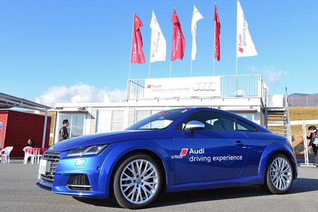 アウディの運転体験イベント、次なる一手はレースの世界!~「Audi Race experience」2016年よりスタート~