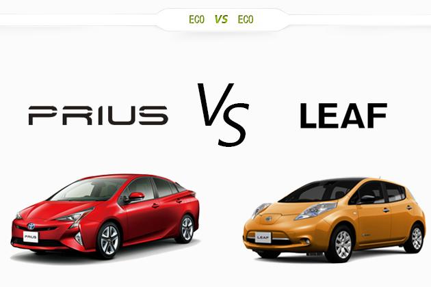 トヨタ プリウス vs 日産 リーフ どっちが買い!?徹底比較