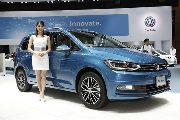 VW 新型トゥーラン(画像は東京モーターショー2015)