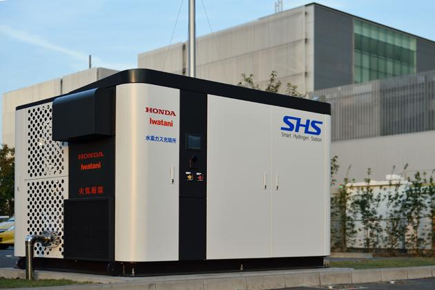 スマート水素ステーション(Honda和光本社ビル設置)