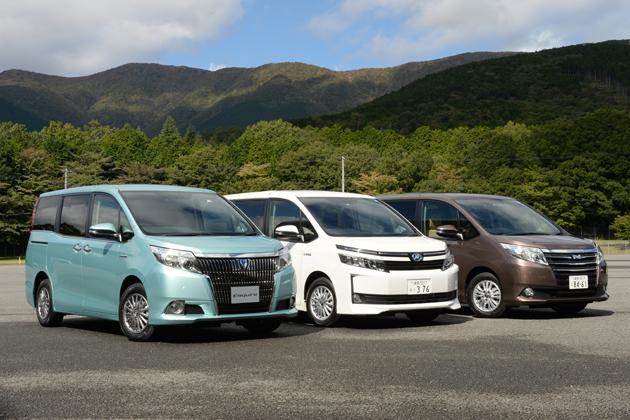 実は日本で一番売れてるクルマ!トヨタのノア3兄弟が年明けに「自動ブレーキ」装備でさらにライバルを引き離す