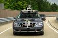 トヨタの自動運転技術実験車