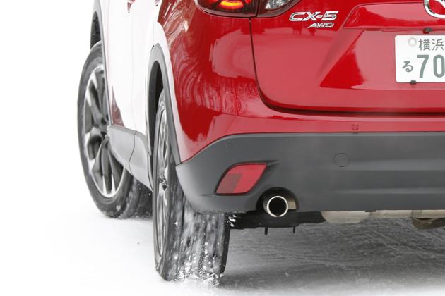 マツダ CX-5 XD L-pkg 6AT 4WD [19インチ ブリザックスタッドレスタイヤ]