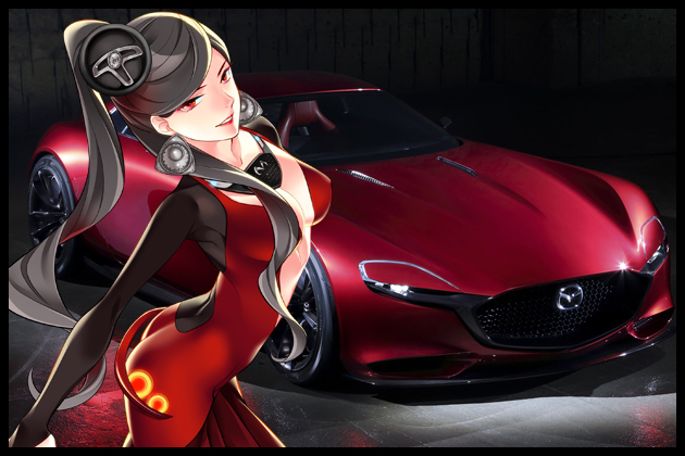 【車なご図鑑】RX-VISION