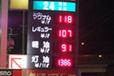 年末の首都圏ガソリン価格