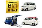 年間18万台以上販売のホンダ「N-BOX」シリーズ、2015年・軽新車販売台数1位に輝く