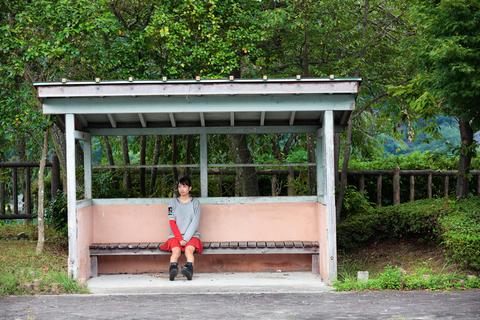 待ち合わせ場所でタカノを待つ昌子。「買ったばかりの新車に乗る?」と誘うと、昌子は「地元でドライブもいいね!」と快諾した。