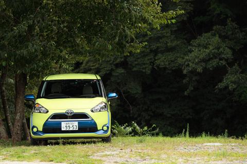3列目シートを備える7人乗りのシエンタ。昌子にとってはミニバンというより人気絶頂の注目車だ。