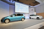 VWのコンパクトミニバン「ゴルフトゥーラン」が、走りや快適性、さらに安全性を大幅に向上させ11年ぶりにフルモデルチェンジ!