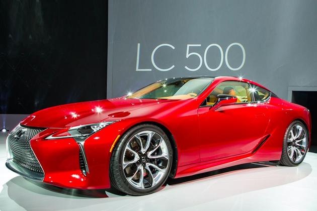レクサス、新型フラッグシップクーペ『LC500』をワールドプレミア!発売は2017年春頃予定!!