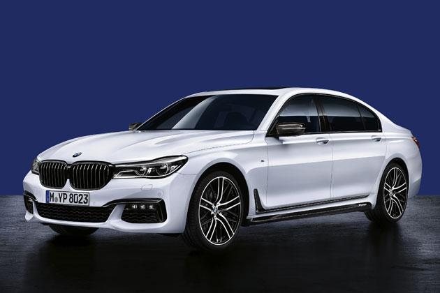 BMW M Performanceパーツを装備した新型7シリーズ