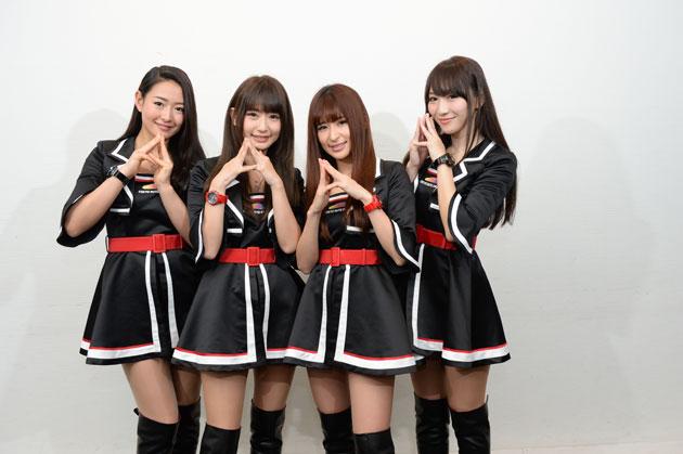 東京オートサロン2016イメージガール「A-class」