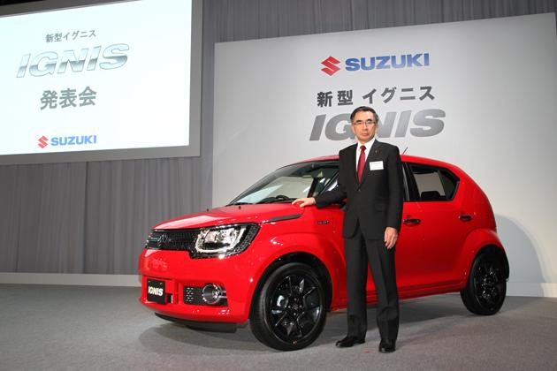 スズキ イグニス 新型車発表会レポート