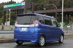 スズキ ソリオハイブリッド 高速道路での燃費テストの様子