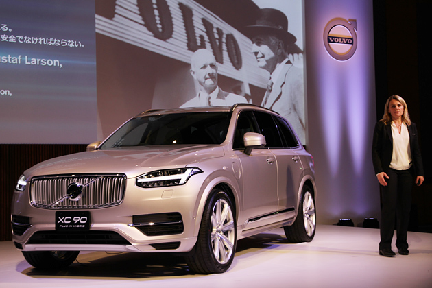 ボルボ 新型XC90 T8 Twin Engine AWD Inscription