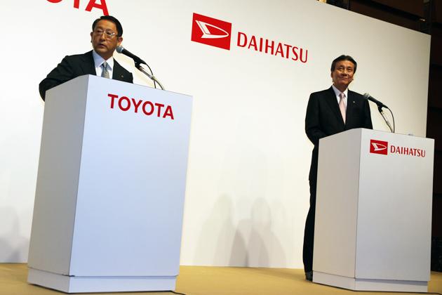トヨタ・ダイハツの小型車事業強化、ダイハツを「MINI」のような世界に通用するブランドにしていきたい