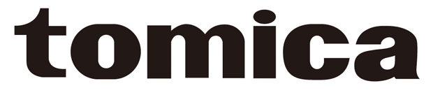 大人向けブランド「tomica」ロゴ