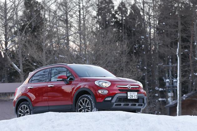 """フィアット500のSUV「500X」を""""雪上""""で試す!AWD性能の高さはJeepと遜色ない"""