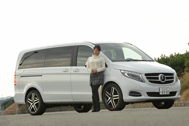 """[試乗]""""ミニバン大国""""日本でメルセデス・ベンツ 新型 Vクラス「V220d」はどう映るのか"""