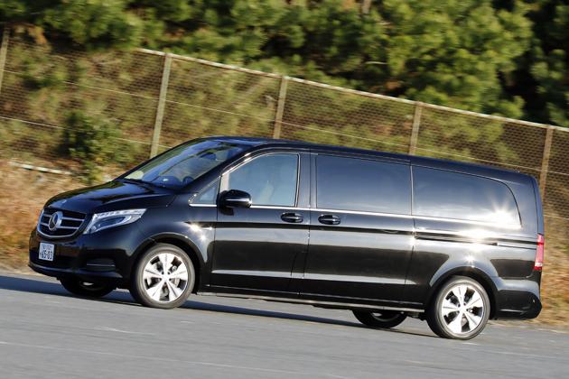 「メルセデス・ベンツ 新型 Vクラス V220d/V220d long/V220d Extra-long」《クリーンディーゼルエンジン搭載ミニバン》試乗レポート/今井優杏