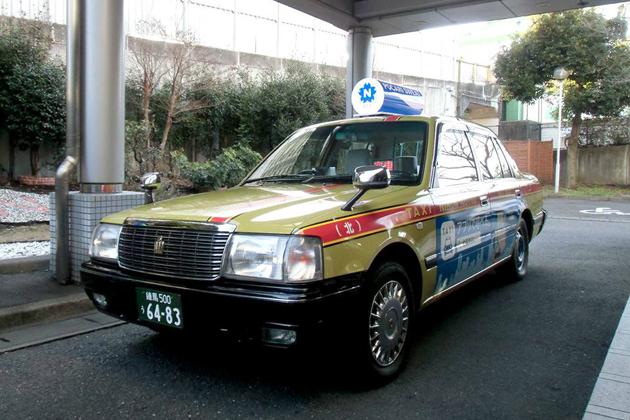 日本交通×大塚製薬 「ポカリタクシー」