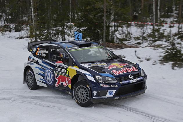VW、ポロ R WRCがラリー・スウェーデン4連覇を達成