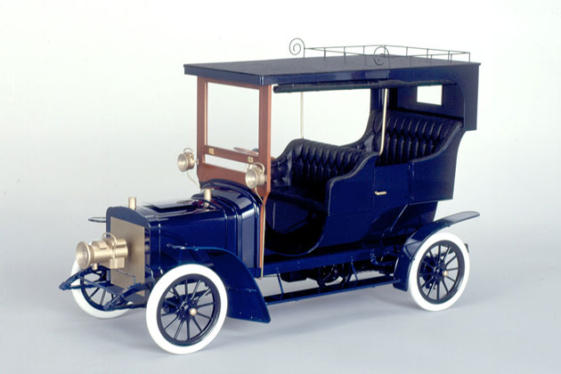 """国産吉田式""""タクリー号""""(日・1907)模型"""